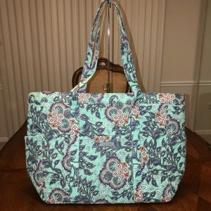 NWT Vera Bradley Get Going/ Get Catried Away Tote